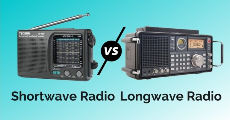 What is the Difference Between Shortwave Vs. Longwave Radio?