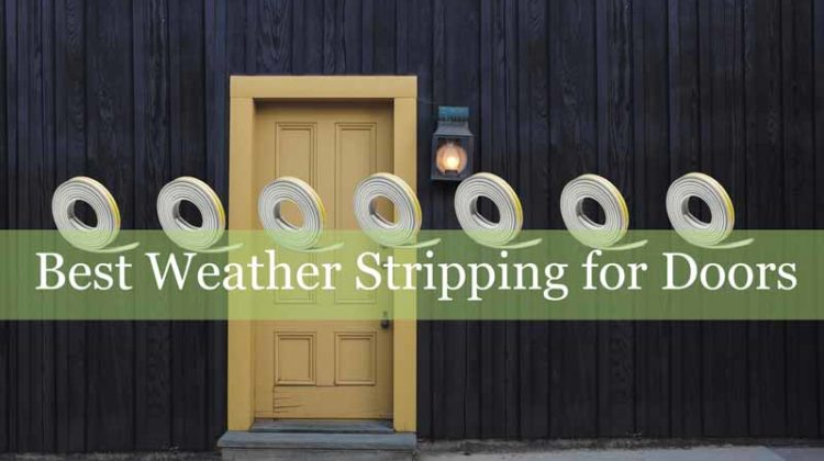 Best Weather Stripping for Doors