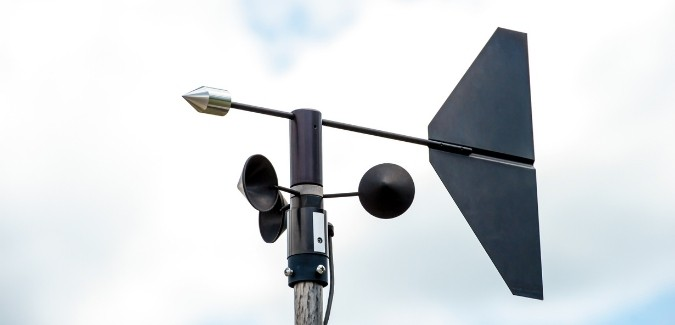 Mechanical Anemometer
