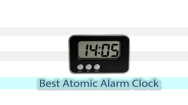 best atomic alarm clock