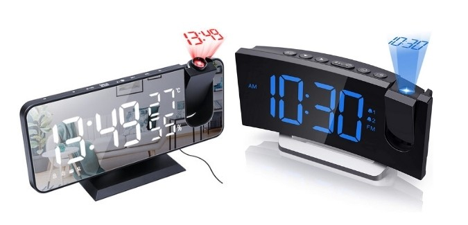 What is the Digital Projection Alarm Clock